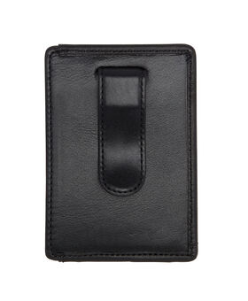Money Clip Card Case Alpha