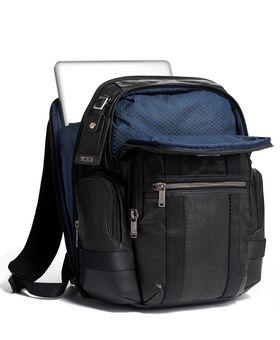 Nathan Backpack Leather Alpha Bravo