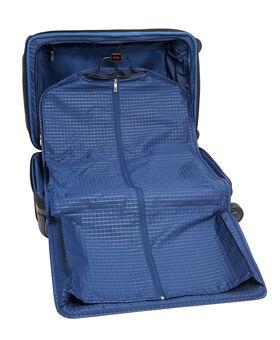 Gatwick International Expandable Leather Carry-On Arrivé