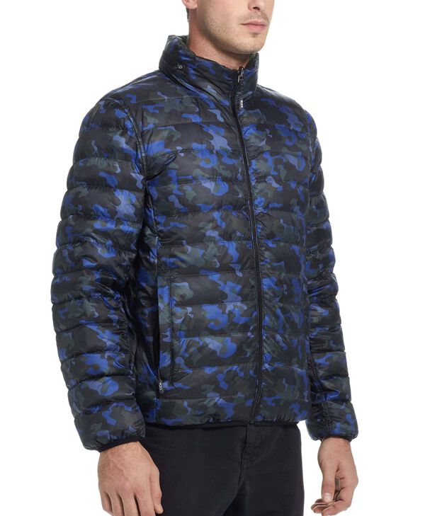 TUMIPAX Outerwear Patrol Reversible Packable Travel Puffer Jacket