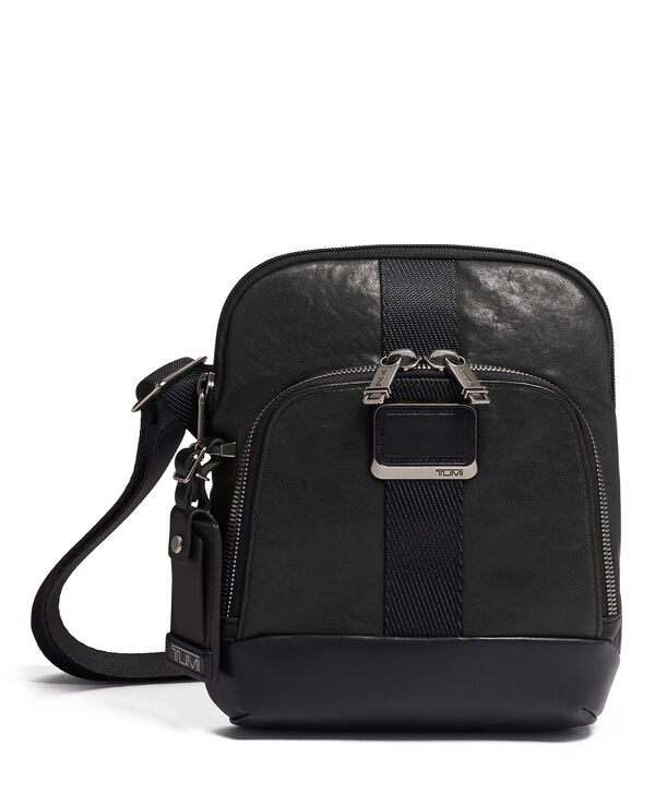 Alpha Bravo Barksdale Crossbody Leather