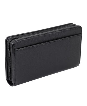 TUMI ID Lock™ Zip-Around Travel Wallet Nassau