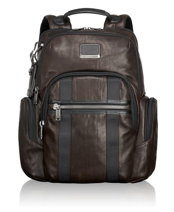 Alpha Bravo Nellis Leather Backpack