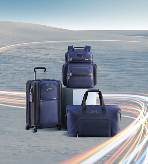 Tumi's luggages
